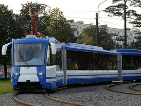Появился новый трамвай