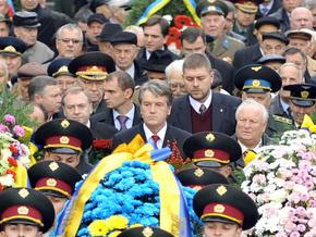 Ющенко посетил могилу Неизвестного солдата
