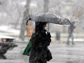 В пятницу в Киеве выпадет снег