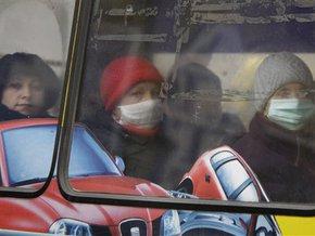 Киевские автобусы дезинфицируют хлоркой