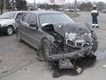 BMW-740 совершил столкновение с маршруткой. Госпитализированы восемь человек