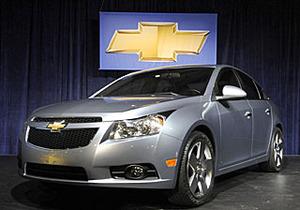 Первые официальный фотографии Chevrolet Cruze.