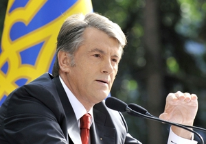 Ющенко заявляет, что документ о взаимодействии с Януковичем является фальшивкой