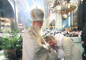 Янукович и Тимошенко встретились в Лавре