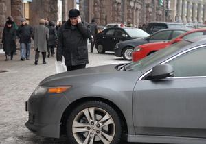 В Киеве не хотят сдавать на права