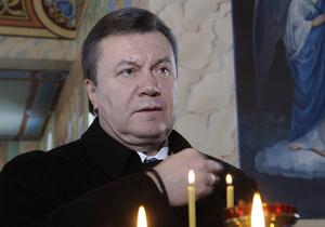 Янукович будет молиться в Лавре