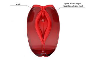 Секси мышка компьюторная