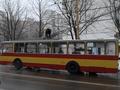 В Херсоне автомобиль председателя ОГА Volkswagen Touareg врезался в троллейбус