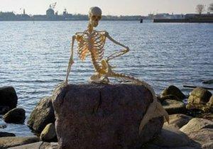 скелет предка русалки из Копенгагена