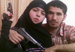 Джанет Абдурахманова с мужем Умалатом Магомедовым