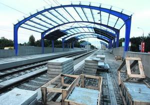 В Киеве построят еще одну станцию скоростного трамвая