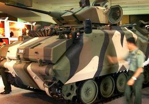 В России состоялся закрытый показ танка Т-95