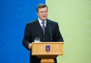 Янукович поздравил всех с Днем крещения Киевской Руси-Украины