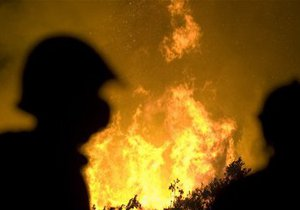 Под Киевом воспламенился торфяник. Закрывайте окна