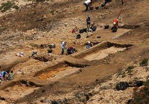 Украинские археологи обнаружили в Черниговской области кости и бивень мамонта
