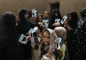 Предвыборная гонка в Афганистане в самом разгаре