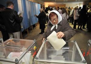 В Днепропетровской области 60% избирателей проигнорировали местные выборы