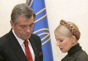 Ющенко: Из-за Тимошенко демократические силы сегодня раздроблены как никогда