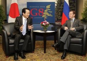В Кремле не исключили скорую встречу Медведева с премьером Японии