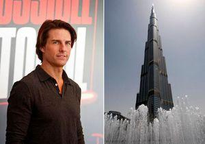 Том Круз пробежался по фасаду самого высокого небоскреба в мире