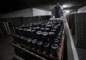 Украина увеличила экспорт вин на 25%