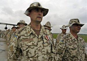 Рада поддержала решение Януковича отправить украинских миротворцев в Кот-д'Ивуар