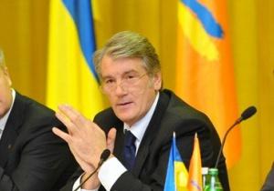 Ющенко решил готовиться к парламентским выборам