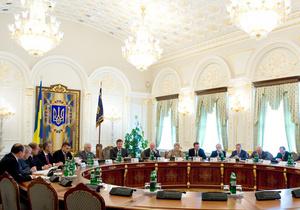 СНБО рассмотрит возможные угрозы для Украины в 2011 году