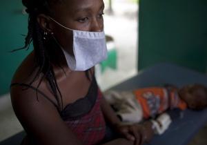 За сутки от холеры на Гаити скончались 60 человек