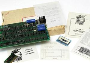Первый персональный компьютер Apple-1 уйдет с молотка аукциона Christie's