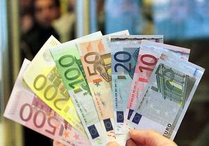 Евро растет на межбанке