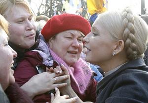 Тимошенко отметит годовщину Оранжевой революции вместе с предпринимателями на Майдане