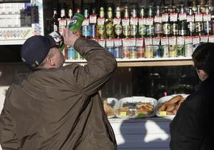 Ъ: Верховная Рада готова начать борьбу с пьянством