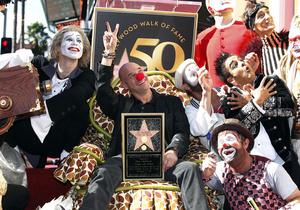 Основатель Cirque du Soleil получил звезду на Аллее славы в Голливуде