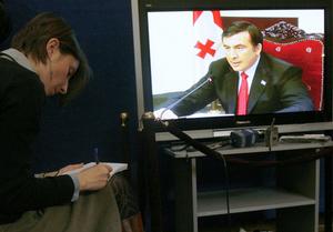 В России хотят юридически закрепить обещание Саакашвили не применять силу