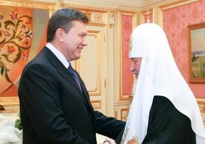 Предприниматели просят Кирилла благословить Януковича на ветирование Налогового кодекса