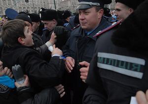 Милиция возбудила дело против протестующих на Майдане предпринимателей