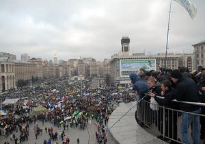 Организаторы акции протеста: На Майдане раскола нет