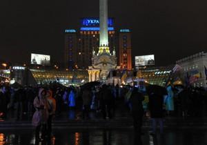 Депутаты сегодня ночью снова будут дежурить в палаточном городке на Майдане