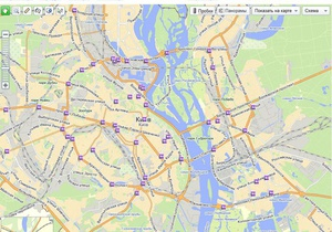 Яндекс установил на улицах Киева 70 камер наблюдения