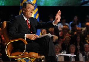 Ющенко придет на Большую политику, а у Шустера поговорят о Налоговой революции