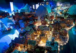 В Норвегии появился город из сладостей
