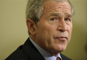 Джордж Буш встретился с основателем Facebook