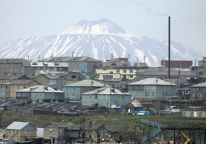 Глава МИД Японии осмотрел Курильские острова с воздуха