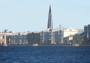 Власти Петербурга перенесли место строительства скандальной башни Газпрома