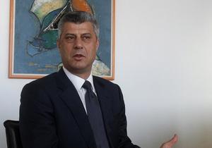 ПАСЕ: Нынешний премьер Косово возглавлял преступную группировку