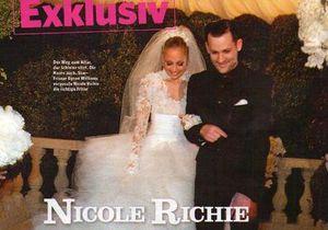Опубликованы эксклюзивные фото со свадьбы Николь Ричи