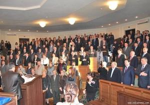 Регионалы не поддержали предложение начинать сессии Волынского облсовета молитвой