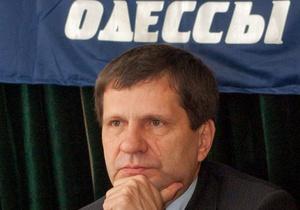 Батьківщина просит ГПУ возбудить дело против мэра Одессы за притеснение украинского языка