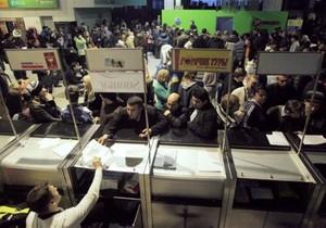 В Домодедово пассажиры не могут найти свой багаж